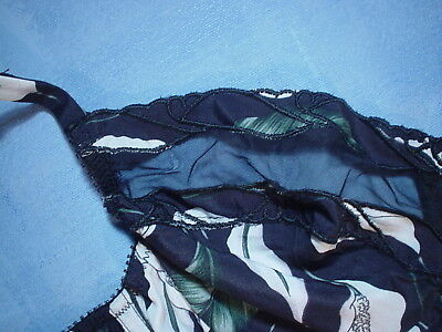 Vintage Valentino 2701 Bustier with Sheer Trim Size 34B in a Calla Lily Print 3