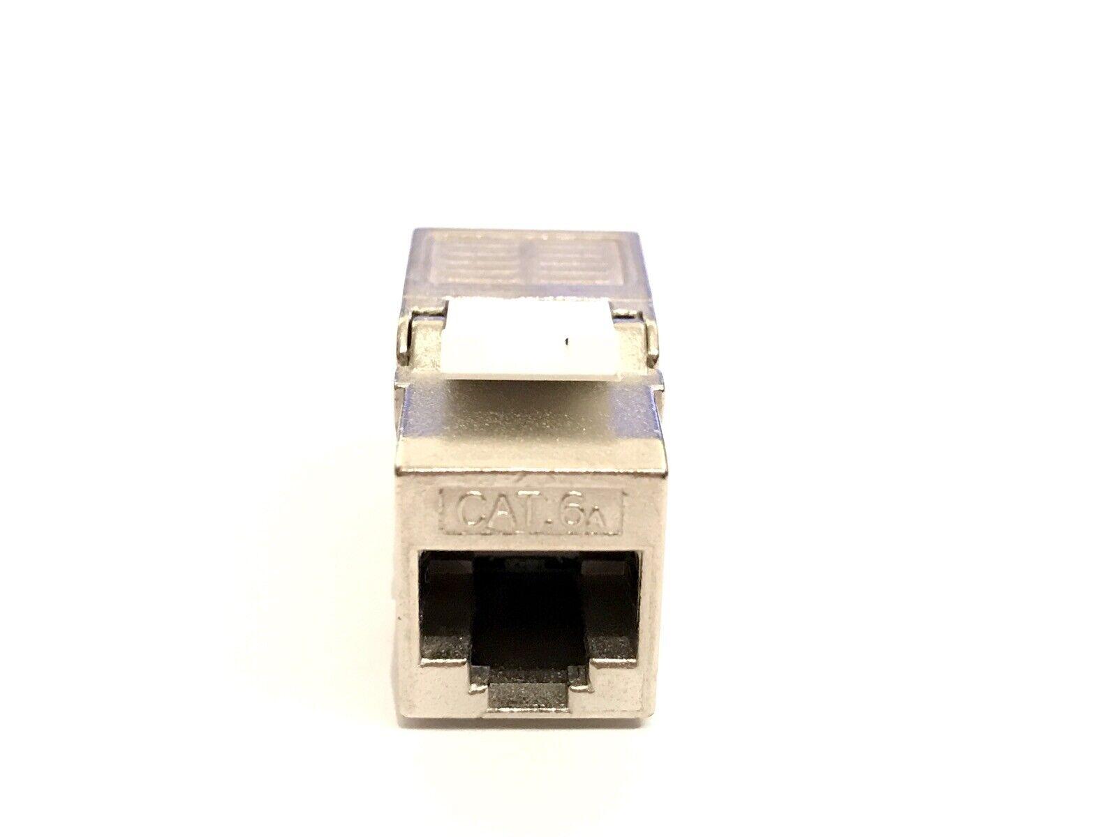 24 Stück Keystone Jack SLIM Modul geschirmt Netzwerk Buchse RJ45 Cat.6A 5