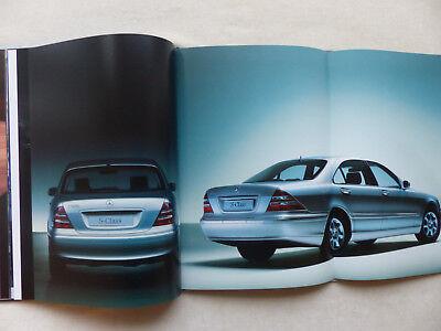Hardcover Prospekt Brochure 05.1999 Mercedes-Benz S-Klasse S500 S600 Typ 220