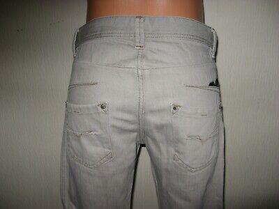 Hardly Worn Boys Pale Grey Diesel Darron Slim Fit Skinny Leg Jeans Age 13-14-15 7
