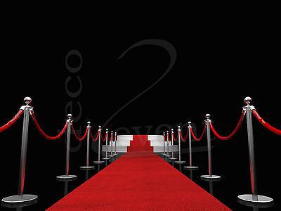 roter Teppich, weißer Teppich, VIP Teppich, Empfangsteppich, Hochzeitsteppich