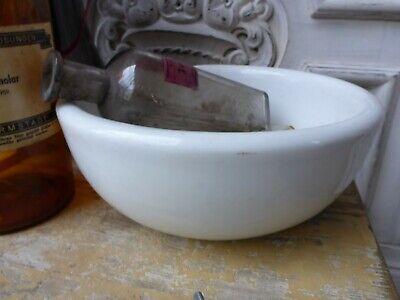 Konvolut alte Apotheker Sachen Tiegel & 3 Flaschen alte Merck antik Glas Flasche 11