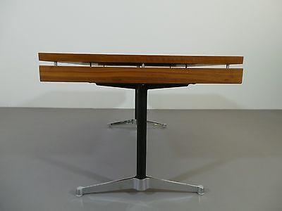 2 Von 11 Schreibtisch Egon Eiermann Eames Herman Miller Holz Nussbaum 1968