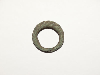 Graceful Twisted tin bronze Viking finger ring . c 8-10 AD. Kievan Rus. Viking. 2 • CAD $81.79