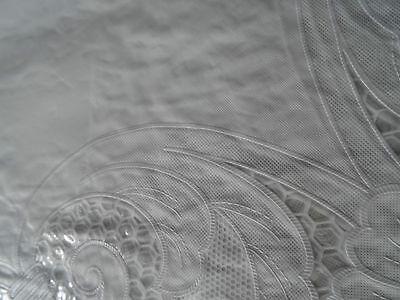 180 cm rund wei tischdecke rund schutzdecke balkon garten blumenmotiv vinyl eur 9 49. Black Bedroom Furniture Sets. Home Design Ideas