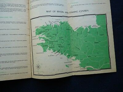 1950s Vintage Guide Brittany France Town Guides Railway Celebrations 7
