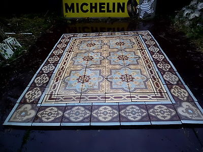 tiles victorian ceramic sand feignies perusson boch metlach boulenger 1900 6