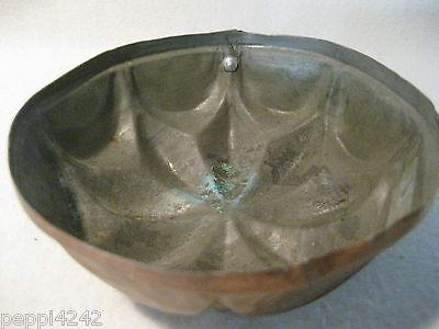 ++  ältere runde kleinere  Kupfer Backform -  D= 12,5 cm  ++ Hhj 4
