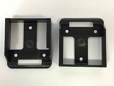 5x BATTERY MOUNTS for MAKITA 18v Storage Shelf Rack Stand Holder Slots Van Case 7