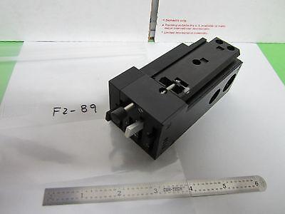 Microscope Filtre Bloc Coulissant Insert 5010-100565 Optiques Bin #F2-89 8