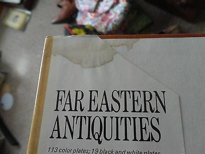 Far Eastern Antiquities 1972 by Ridley, Michael J. 0707100437-GOOD CONDITIONAL