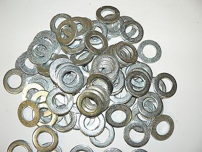 1-1//8 Zinc Plated Flat Washers 25 lb Steel SAE Pattern