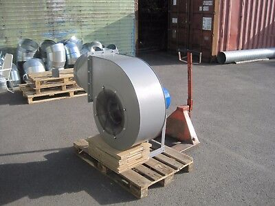Large Industrial Centrifugal Blower Fan 4KW 2900rpm 10500m3/hr high pressure 9