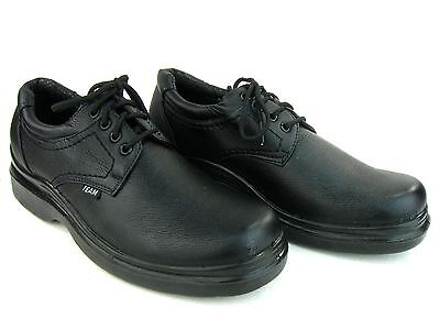 ee3007df7b03 ... Men s Kitchen Non-slip Lace Up Working Skid Resistance Shoes Synthetic  Black 7