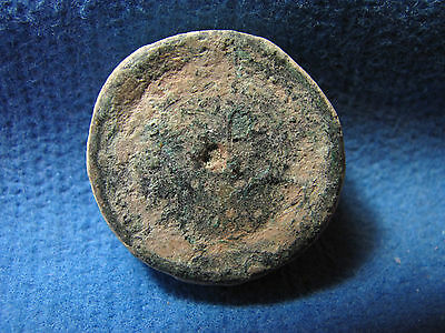 Ancient Bronze Weight. Circa 5th-7th century. 4 Nomismata. Collectible Artifact.