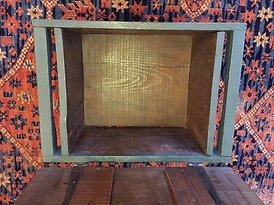 Early Six Plank Pine Footstool Storage Stool Sewing Storage Box 8