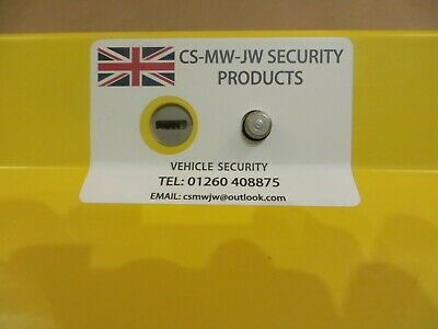 Ford Transit Van Anti-Theft Car Pedal box Lock For Other Vehicles Message Me 4