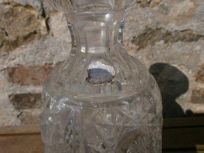 carafe en  cristal de boheme 7