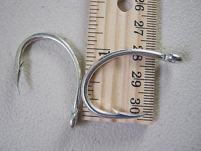 100 Eagle Claw Live bait hooks FL317MG-6//0  Black oxide Tuna Wahoo Dorado