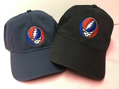 Grateful Dead Steal Your Face Embroidered Low Profile Organic Cotton Ball Cap 8
