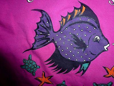 SHAMP Creative Fashion*104 *T-Shirt*PINK*Fisch Schildkröten Muscheln*SEE HOLIDAY 7
