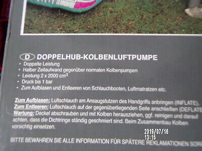 Doppelhub-Kolbenluftpumpe 4
