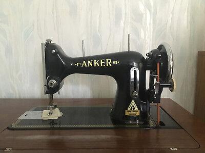 ANKER RR 511 Nähmaschine ANTIK mit Tisch BJ:1952