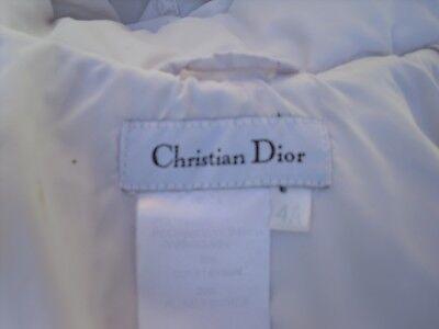 11 sur 12 Manteau blanc doudoune capuche fille CRHISTIAN DIOR taille 4 ans cec36d713cc