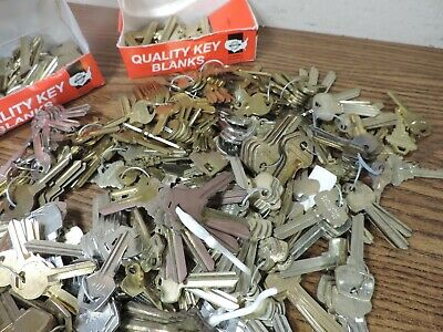 18 pounds key blanks ilco,corbin russwin, schlage, star , sargent others #2 5