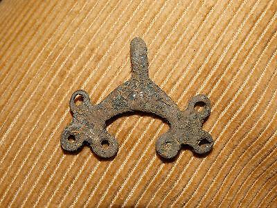 Perfect Bronze female pendant . ca 3-5 AD. Kiev Culture. 2
