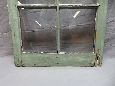 Antique 6 Lite Window Sash 35x20 Casement Sunroom Architectural Old Vtg 625-18P 9