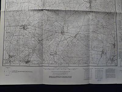 Landkarte Meßtischblatt 4055 Kanig i.d. Neumark / Kaniów, Kreis Crossen, 1938