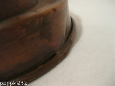 ++ alte schöne Kupfer Backform Kupferform   ++Hhj 8