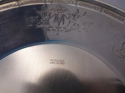 D'Orleans by Towle Sterling Silver Griffin Patterned Cookie Plate (#4394) 6