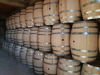 Botte in legno di castagno da 200 litri fatti a mano spedizione inclusa 2