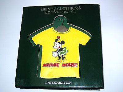 662ad95e ... New LE JUMBO Disney Pin✿Retro Classic Minnie Mouse T-Shirt Polka Dot Pie