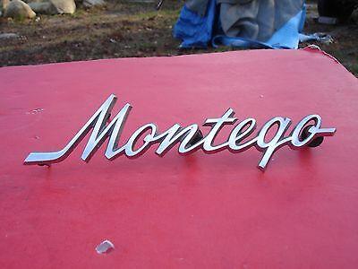 Vintage Original FoMoCo 1968 Mercury Montego Fender Emblem 54291A36-A