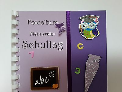 Gästebuch/Fotoalbum mit Spiralbindung, Erinnerung, Einschulung, Andenken, DinA5