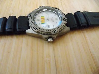 Zanwatch Protime Quartz Mens Stainless Steel Back Wrist Watch 3