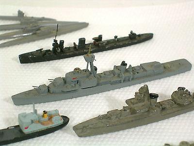Konvolut 15 Schiffe, U-Boote, Zerstörer,Guß 3