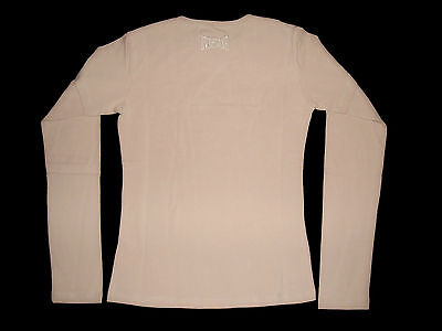 EVERLAST t-shirt top maglietta jersey rosa girl ragazza 16 anni o donna XS BNWT 3