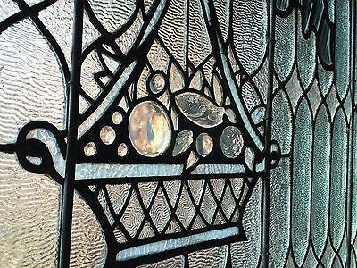 Impressive jeweled stained glass window 3