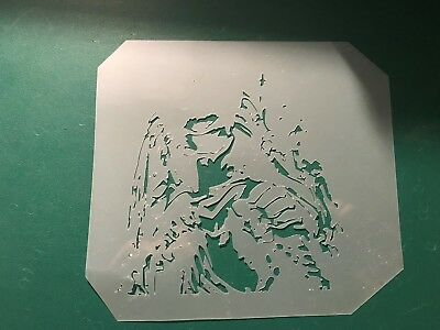 Multilayer step by step airbrush stencil PREDATOR 4 9