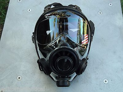 SGE 400/3 Tactical 40mm NATO Gas Mask, for NBC & Impact Protection Made in 2020 2