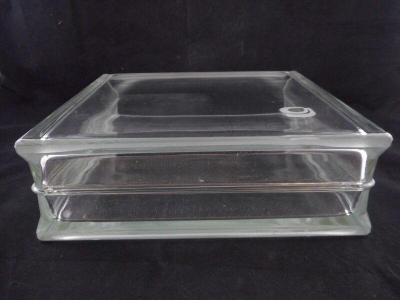 GENERAL GLASS BLOWING Rectangular Developing Tank 30 x 10 x 3cm w/ Flat Lid B 5