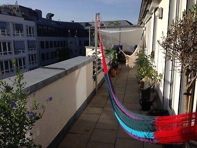 Hängemattengestell Mast Edelstahl Mast 76 mm  195 cm
