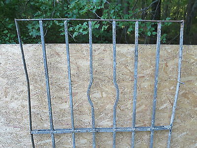Antique Victorian Iron Gate Window Garden Fence Architectural Salvage Door WWW 3