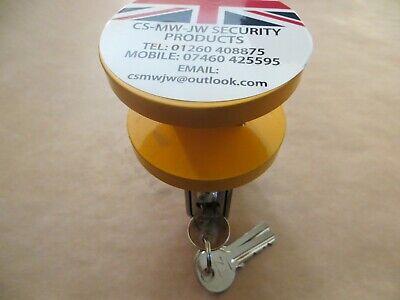 Heavy Duty Trailer Hitch Lock YL 40mm & 50mm Eye Couplings security 10