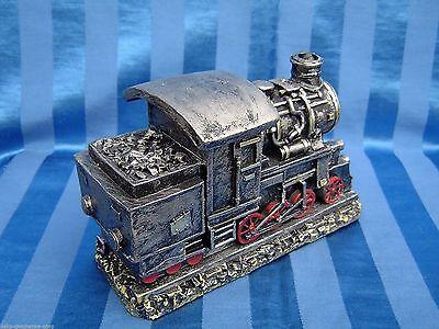 Poly Räucher Lok Dampflok Eisenbahn Lokomotive Räuchermann rauchend 16 cm 90026
