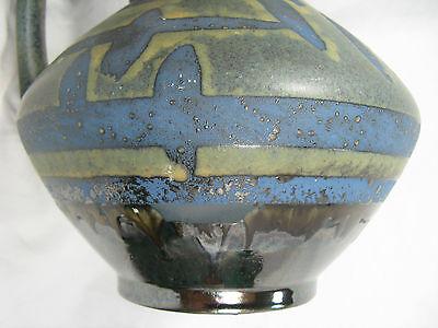 60´s design Carstens Keramik pottery vase 1507-27  rare Ankara glaze variation